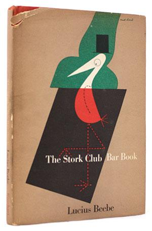 The Stork Club Bar Book Rare Books - Food & Wine