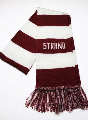 Scarf: Red & White Strand Strand Exclusives