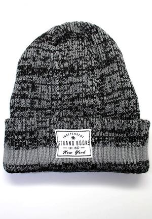 Beanie: Grey Stripe Independent Knit