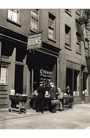 Poster: 1938 Strand Book Store