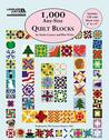 1,000 Any-Size Quilt Blocks Miscellaneous