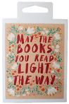 Sticker: Floral Book Light The Way New Arrivals in Gifts