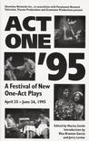 Act One '95: The Complete Plays Plays - Anthologies
