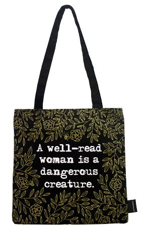 Tote Bag: Well Read Woman